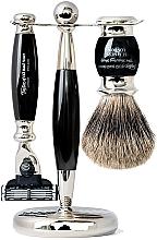 Voňavky, Parfémy, kozmetika Sada - Taylor of Old Bond Street Mach3 (razor/1szt + sh/brush/1szt + stand/1szt)