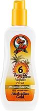 Voňavky, Parfémy, kozmetika Opaľovací gélový sprej - Australian Gold Body Spray Gel SPF6
