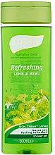 Voňavky, Parfémy, kozmetika Sprchový gél - Luksja Refreshing Lime & Kiwi Shower Gel