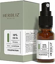 """Voňavky, Parfémy, kozmetika Olejový ústny sprej """"Oliva"""" 10% - Herbliz CBD Olive Fresh Oil Mouth Spray 10%"""