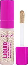 Voňavky, Parfémy, kozmetika Korektor na tvár - Lovely Liquid Camouflage
