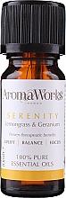Voňavky, Parfémy, kozmetika Zmes éterických olejov - AromaWorks Serenity Essential Oil
