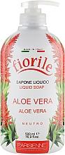 "Voňavky, Parfémy, kozmetika Tekuté mydlo ""Aloe Vera"" - Parisienne Italia Fiorile Aloe Vera Liquid Soap"