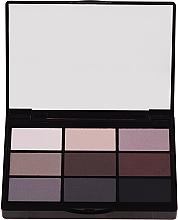 Voňavky, Parfémy, kozmetika Propagácia očných tieňov - Gosh 9 Shades Eye Palette