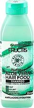 """Voňavky, Parfémy, kozmetika Hydratačný šampón na vlasy """"Aloe Vera"""" - Garnier Fructis Aloe Vera Hair Food Shampoo"""
