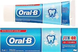 """Voňavky, Parfémy, kozmetika Detská zubná pasta """"Pomaranč"""" - Oral-B Junior Toothpaste"""