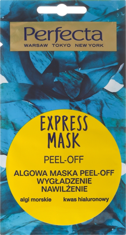 Maska zlupovacia na tvár s riasami - Perfecta Express Mask — Obrázky N1