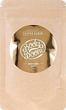 Voňavky, Parfémy, kozmetika Kávový scrub na telo - BodyBoom Coffe Scrub Shimmer Gold