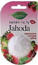 """Voňavky, Parfémy, kozmetika Balzam na pery """"Jahoda"""" - Bione Cosmetics Vitamin E Lip Balm"""