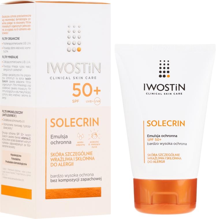 Ochranná emulzia SPF50+ - Iwostin Solecrin Emulsion SPF50+