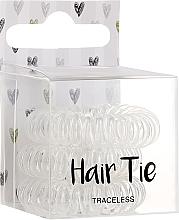 Voňavky, Parfémy, kozmetika Gumičky do vlasov, priehľadné - Cosmetic 2K Hair Tie Clear