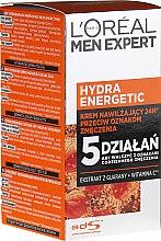 Voňavky, Parfémy, kozmetika Hydratačné mlieko - L'Oreal Paris Men Expert Hydra Energetic Daily Anti-Fatigue Moisturising