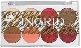 Voňavky, Parfémy, kozmetika Paleta očných tieňov - Ingrid Cosmetics Bali Eyeshadows Palette