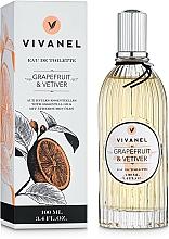Voňavky, Parfémy, kozmetika Vivian Gray Vivanel Grapefruit & Vetiver - Toaletná voda