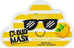 "Voňavky, Parfémy, kozmetika Maska-mrak na tvár ""Banana"" - Bielenda Cloud Mask Banana Cabana"