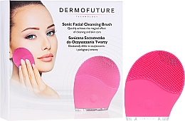 Voňavky, Parfémy, kozmetika Zvuková kefa na čistenie tváre, ružová - Dermofuture