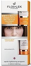 Voňavky, Parfémy, kozmetika Krém na intenzívne osvetlenie pigmentových škvŕn a peh - Floslek White & Beauty Intense Spots And Freckles Lightening Cream