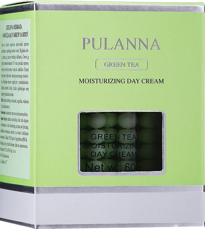 Hydratačný ochranný denný krém na tvár - Pulanna Green Tea Moisturizing Day Cream — Obrázky N2