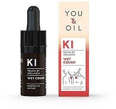 Voňavky, Parfémy, kozmetika Zmes éterických olejov - You & Oil KI-Wet Cough Touch Of Welness Essential Oil