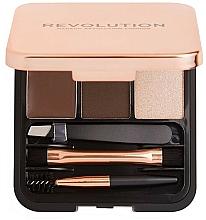 Voňavky, Parfémy, kozmetika Sada na obočie - Makeup Revolution Brow Sculpt Kit