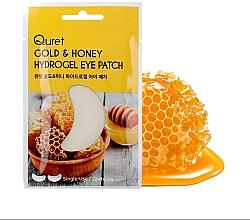 Voňavky, Parfémy, kozmetika Náplasti pod oči - Quret Gold&Honey Hydrogel Eye Patch