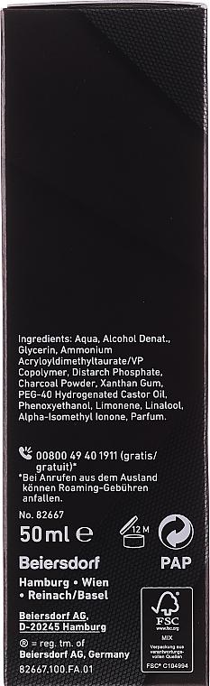 Hydratačný gél na tvár so zmatňujúcim účinkom - Nivea Men Deep Control Matt Effect Moisturizing Gel — Obrázky N2