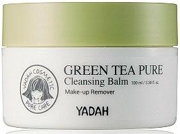 Voňavky, Parfémy, kozmetika Čistiaci balzam na tvár so zeleným čajom - Yadah Green Tea Pure Cleansing Balm