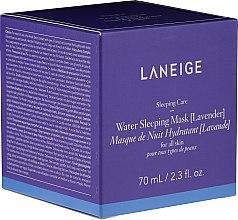 Voňavky, Parfémy, kozmetika Hydratačná nočná maska s levanduľou - Laneige Water Sleeping Mask Lavender