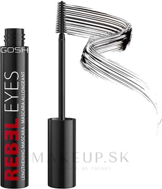 Maskara - Gosh Rebel Eyes Mascara Lengthening — Obrázky Black