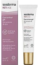 Voňavky, Parfémy, kozmetika Anti-age gél na pleť okolo očí s tromi typmi retinolu - SesDerma Laboratories Reti Age Facial Eye Contour Gel 3-Retinol System