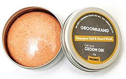 Voňavky, Parfémy, kozmetika Tuhý šampón na bradu - Groomarang Shampoo Ball & Beard Wash
