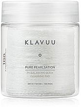 Voňavky, Parfémy, kozmetika Čistiacie peelingové tampóny na tvár, 100 ks - Klavuu Pure Pearlsation PH Balancing Quick Cleansing Pad
