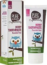 """Voňavky, Parfémy, kozmetika Detská zubná pasta """"Bobuľa"""" - Pure Beginnings Baby Berry Toothpaste"""