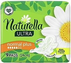 Voňavky, Parfémy, kozmetika Hygienické vložky s krídlami, 9 ks - Naturella Ultra Normal Plus