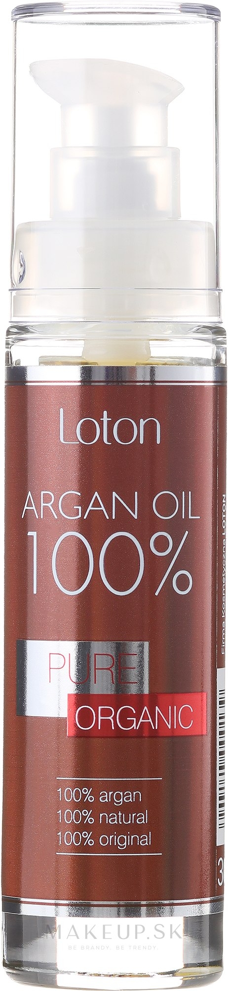 Arganový oléj - Loton Argan Oil 100% — Obrázky 30 ml