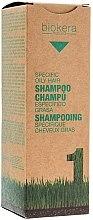 Voňavky, Parfémy, kozmetika Šampón pre mastnú pokožku hlavy - Salerm Biokera Specific Oil Hair Shampoo