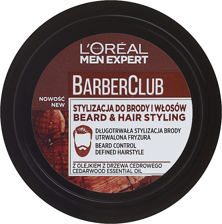 Krém-styling pre styling brady - L'Oreal Paris Men Expert Barber Club