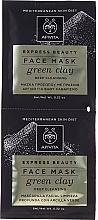 Voňavky, Parfémy, kozmetika Hĺbková čistiaca maska pre pleť tváre - Apivita Intensive Exfoliating Mask
