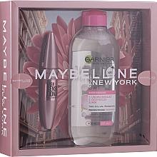 Voňavky, Parfémy, kozmetika Sada - Maybelline New York (mascara/9.5ml + micellar water/400ml)