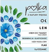"""Voňavky, Parfémy, kozmetika Ľanový krém na tvár """"Regenerácia a elasticita"""" - Polka Face Cream"""