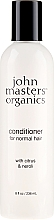 "Voňavky, Parfémy, kozmetika Kondicionér na vlasy ""Citrus a Neroli"" - John Masters Organics Citrus & Neroli Detangle"