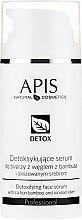 Voňavky, Parfémy, kozmetika Sérum-detox pre mastnú a kombinovanú pleť tváre - APIS Professional Detox Detoxifying Face Serum With Carbon Bamboo And Ionized Silver