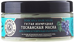 """Voňavky, Parfémy, kozmetika Maska na suché a poškodené vlasy """"Smaragdová Toskánska"""" - Planeta Organica Toscana Hair Mask"""