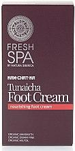 Voňavky, Parfémy, kozmetika Krém na nohy výživný - Natura Siberica Fresh Spa Kam-Chat-Ka Tunaicha Foot Cream