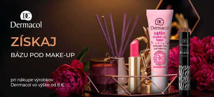 Získaj bázu pod make-up ako darček pri nákupe výrobkov Dermacol vo výške od 8 €