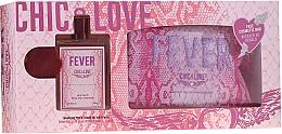 Voňavky, Parfémy, kozmetika Chic&Love Fever - Sada (edt / 100ml + vrecko)