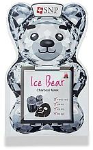 Voňavky, Parfémy, kozmetika Maska na tvár s uhlím - SNP Ice Bear Charcoal Mask