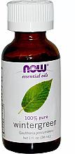 Voňavky, Parfémy, kozmetika Esenciálny olej hruštičky - Now Foods Essential Oils 100% Pure Wintergreen