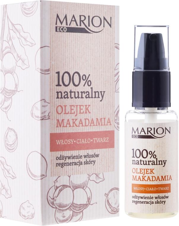 Olej na vlasy, telo a tvár makadamy - Marion Eco Oil