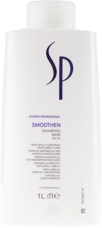 Šampón pre hladkosť vlasov - Wella SP Smoothen Shampoo